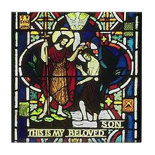 Baptism of Jesus Tile Coaster