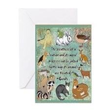 Animals Card Greeting Cards