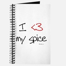 I love my spice (red heart fu Journal