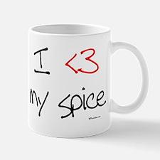 I love my spice (red heart fu Mug