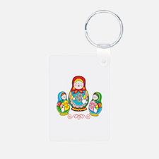 Russian Matryoshka Keychains
