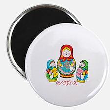Russian Matryoshka Magnets