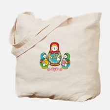 Russian Matryoshka Tote Bag