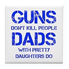 guns-dont-kill-people-PRETTY-DAUGHTERS-CAP-BLUE Ti