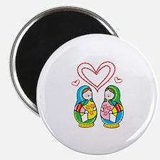 Love Nesting Dolls Magnets