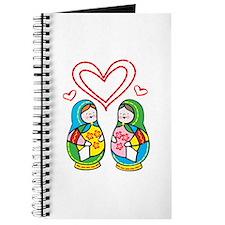 Love Nesting Dolls Journal
