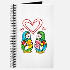 Love Nesting Dolls Journal