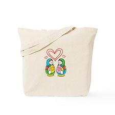 Love Nesting Dolls Tote Bag