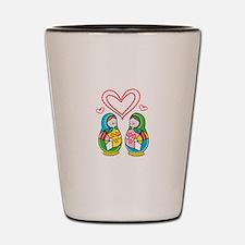 Love Nesting Dolls Shot Glass