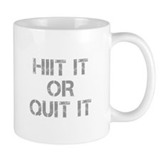 HIIT-IT-OR-QUIT-IT-CAP-GRAY Mugs