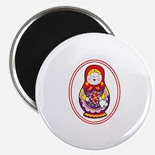 Matryoshka Oval Magnets