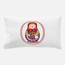 Matryoshka Oval Pillow Case
