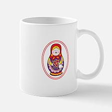 Matryoshka Oval Mugs