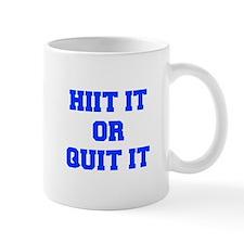 HIIT-OR-QUIT-IT-FRESH-BLUE Mugs