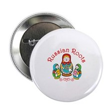 """Russian Roots 2.25"""" Button"""