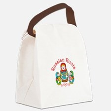 Russian Roots Canvas Lunch Bag
