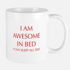 i-am-awesome-in-bed-OPT-RED Mugs