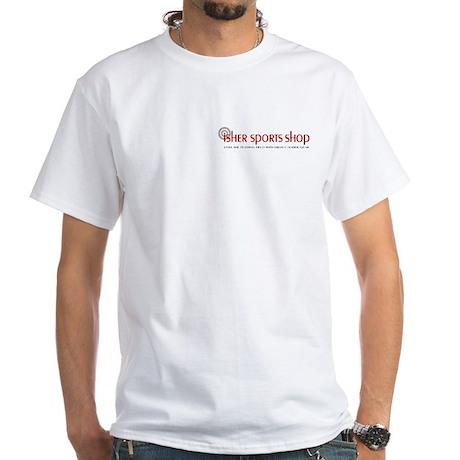 Isher Sports Logo White T-Shirt