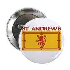 "St. Andrews, Scotland 2.25"" Button (10 pack)"