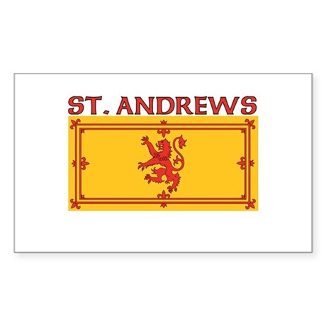 St. Andrews, Scotland Rectangle Sticker