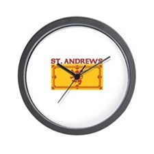 St. Andrews, Scotland Wall Clock