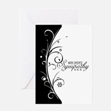 With Deepest Sympathy, Understated, Greeting Cards