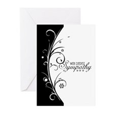 With Deepest Sympathy, Greeting Cards (pk Of 10)