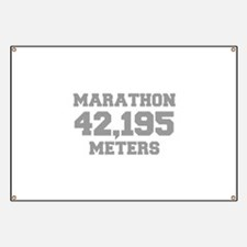 MARATHON-42195-METERS-FRESH-GRAY Banner