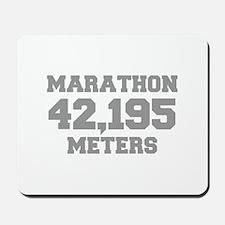 MARATHON-42195-METERS-FRESH-GRAY Mousepad