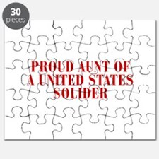 PROUD-AUNT-OF-US-SOLDIER-BOD-RED Puzzle