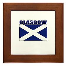 Glasgow, Scotland Framed Tile