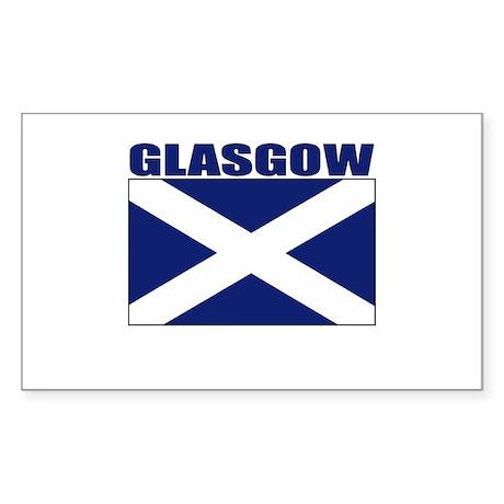 Glasgow, Scotland Rectangle Sticker