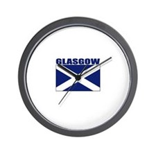 Glasgow, Scotland Wall Clock