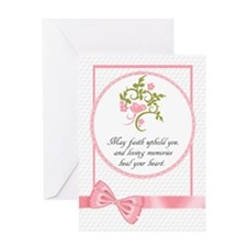 Floral And Butterfly Heartfelt Greeting Cards