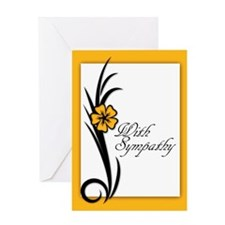 With Sympathy, Understated, Simple, Greeting Cards