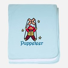 Puppeteer baby blanket