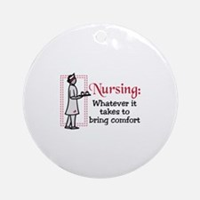 Nursing: Whatever it Takes to bring comfort Orname