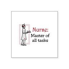 Nurse: Master All Tasks Sticker