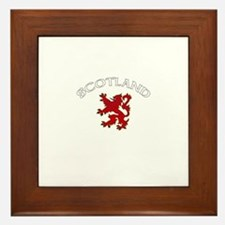 Scotland Lion (Dark) Framed Tile
