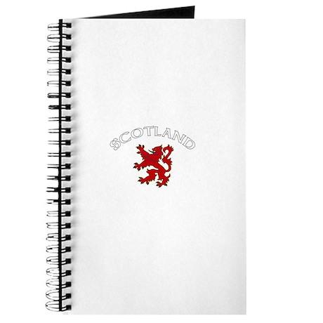 Scotland Lion (Dark) Journal
