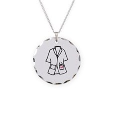 White Smock Necklace