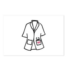 White Smock Postcards (Package of 8)