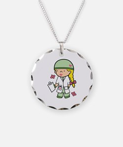 Military Medical Student Necklace