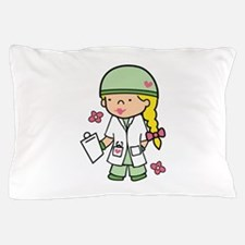 Military Medical Student Pillow Case