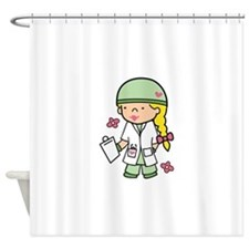 Military Medical Student Shower Curtain