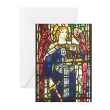 Angel of Justice Greeting Cards (Pk of 10)