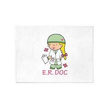 E.R. Doc 5'x7'Area Rug