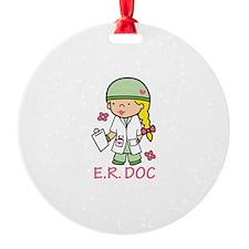 E.R. Doc Ornament