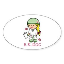 E.R. Doc Decal