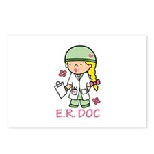 E.R. Doc Postcards (Package of 8)